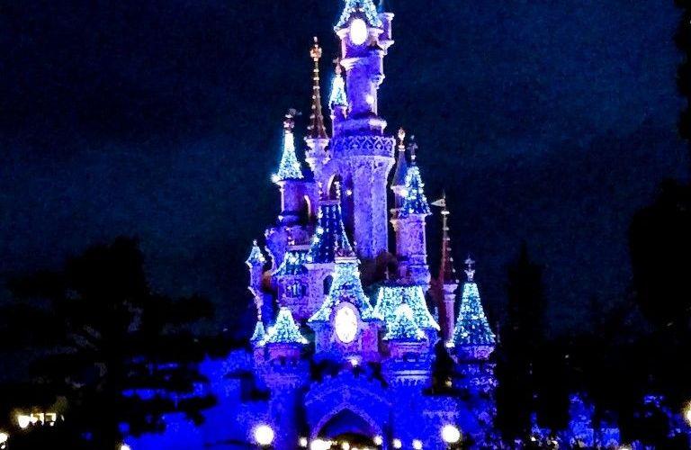 Natale a Disneyland Paris - castello