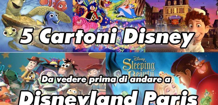 5 Cartoni Disney