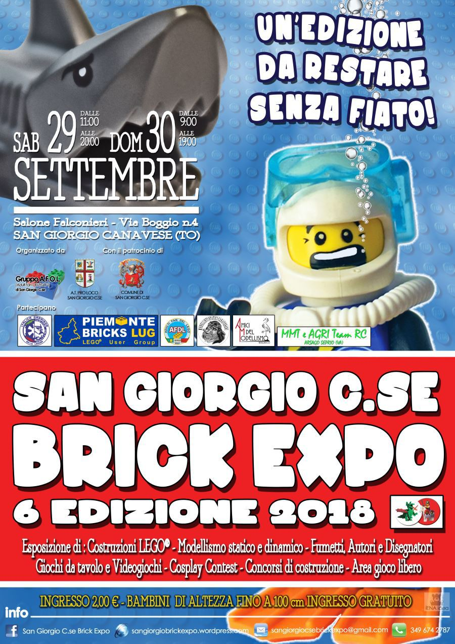 Locandina Brick Expo 2018