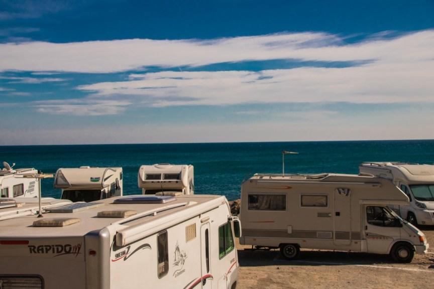 Area camper Finale Ligure sul mare