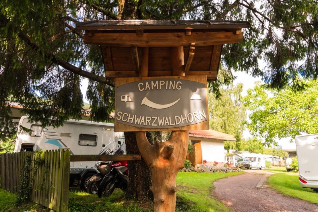 Foresta Nera in camper