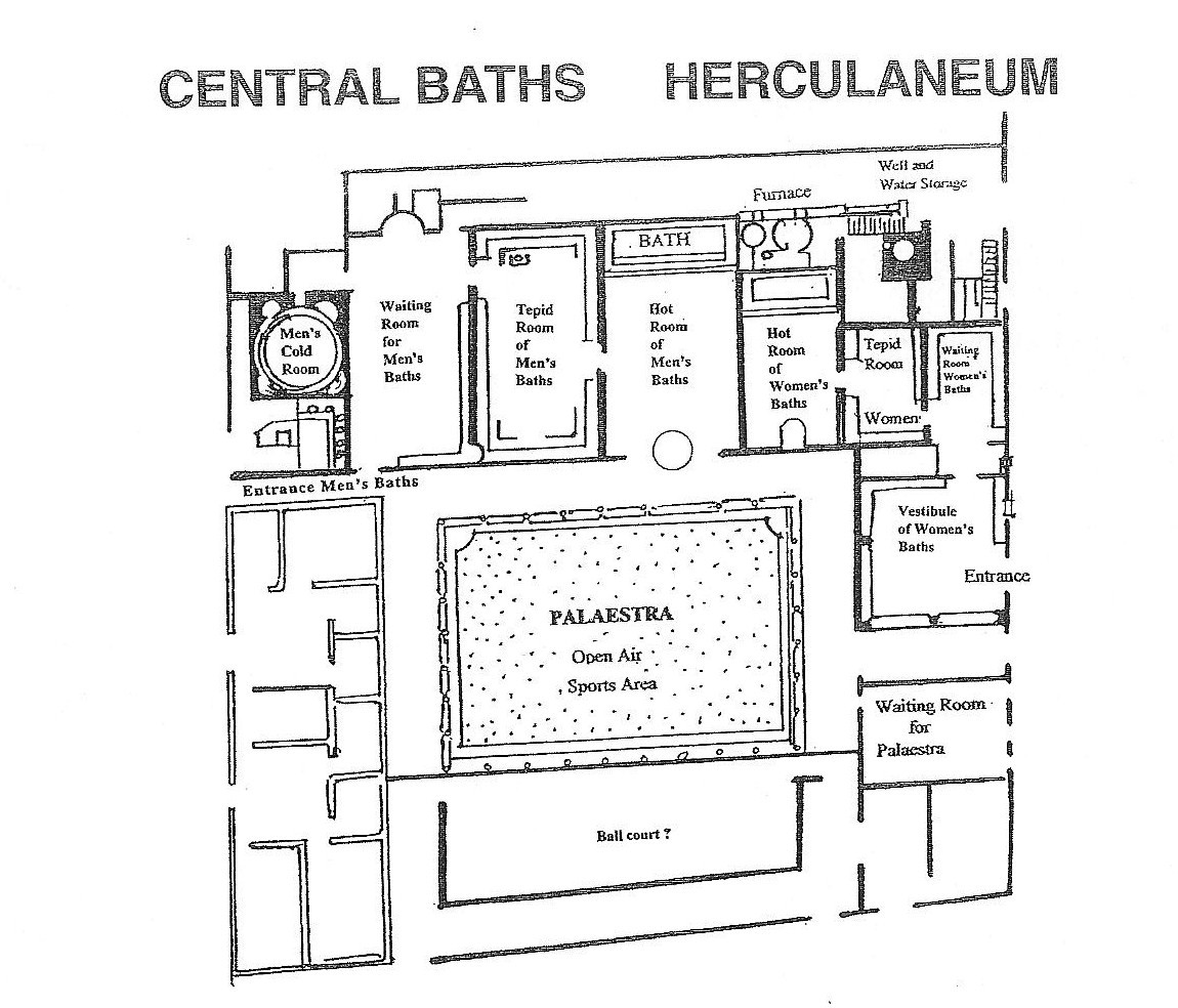 roman baths diagram duncan performer wiring leisure activities in pompeii and herculaneum all empires