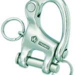Product image for Forged Stainless Steel Fixed Clevis Snap Shackles