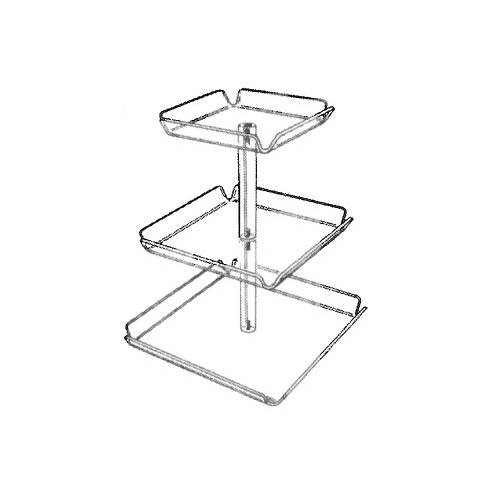 3-Tier Tray Tower