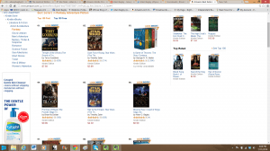 It peaked at #5,379 11PM (7/11/2014) #50 in Fantasy #60 in Sword and Sorcery #67 BOOKS