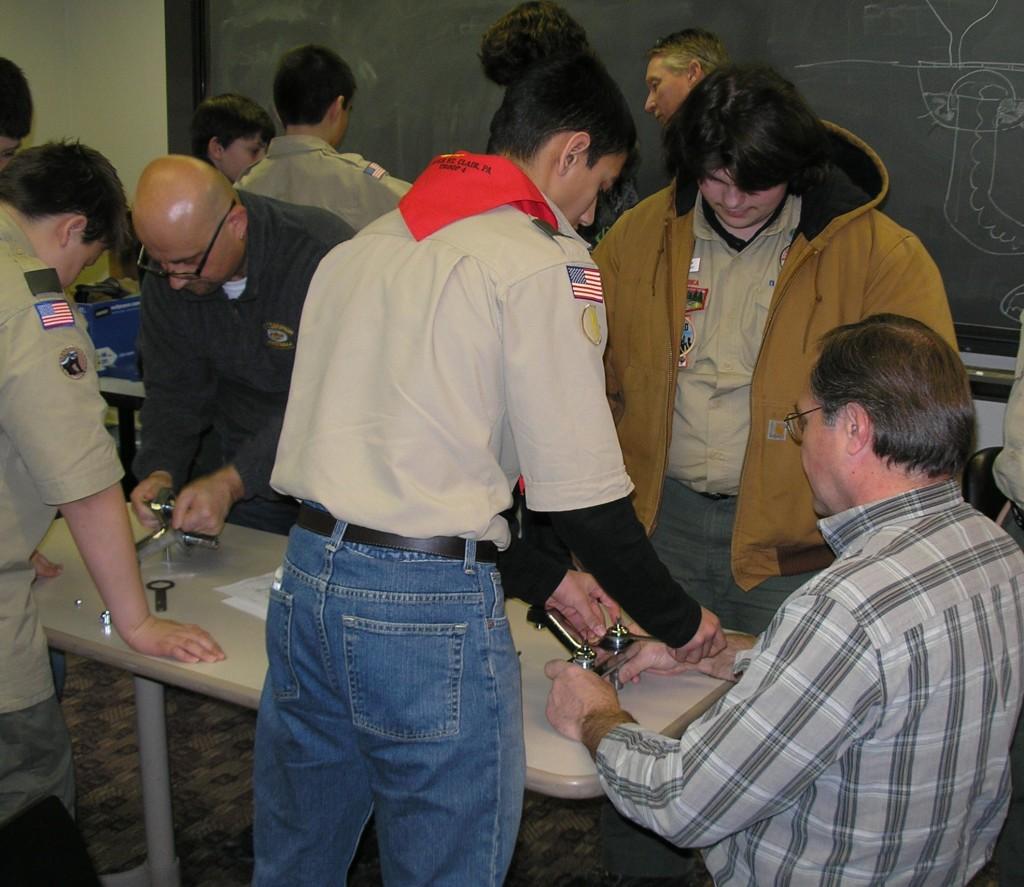 Plumbing Merit Badge  Pittsburgh Community  Allen  Shariff