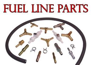 Fuel Lline Parts Section Button