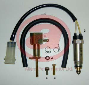 Mikuni Electric Solenoid MEG-024 Powerjet Conversion Kit Picture