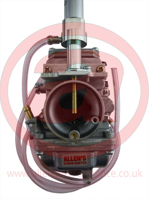 Mikuni Tm24-9 with electronic solenoid powerjet conversion