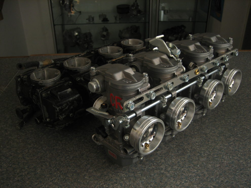 CRS29 Z1000 Carbs carburettors with special Airbox Adaptors