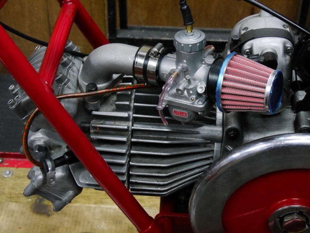 Mikuni VM26-8637 on Moto Guzzi Nuovo Falcone 500cc