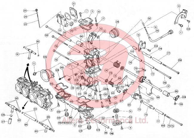 FCR 35-41, Horizontal (Four) - Allens Performance Ltd  Allens