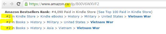 Canada Amazon, Vietnam War