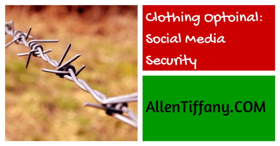 Social Media Security for writers, bloggers, novelists
