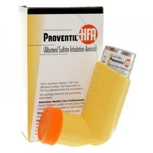 Proventil Inhaler (Albuterol Inhalation) 100 mcg
