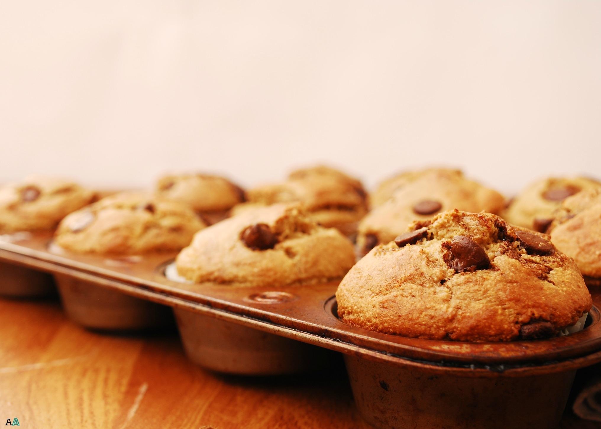 Blender Oatmeal Banana Chocolate Chip Muffins (Gluten, Dairy, Soy ...