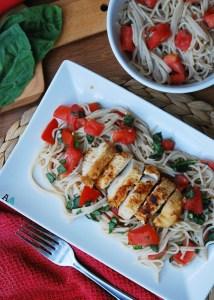 Bruschetta Chicken & Pasta (GF, DF, Egg, Soy, Peanut, Tree nut Free, Top 8 Free) Recipe by Allergy Awesomeness