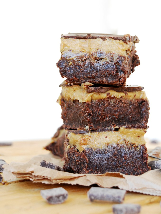 SunButter Triple Layer Brownies Dessert recipe by AllergyAwesomeness