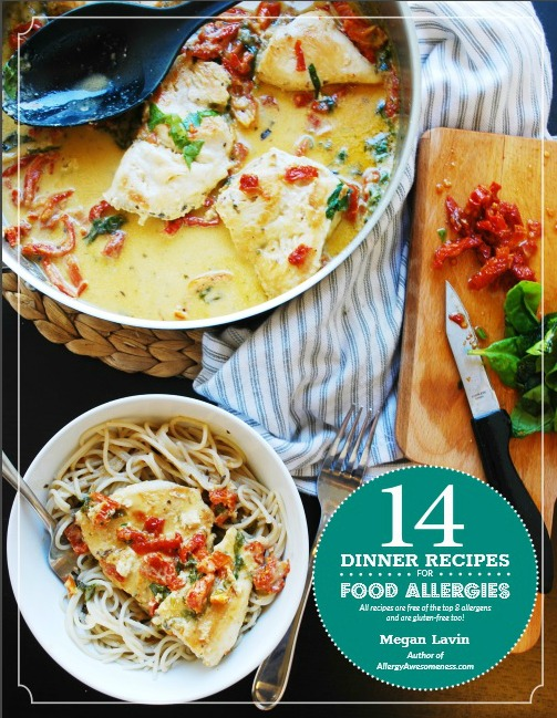 Recipe book for EOE and multiple food allergies