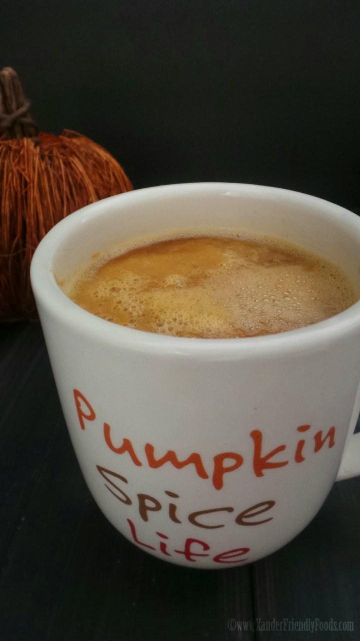 Frothy Pumpkin Latte