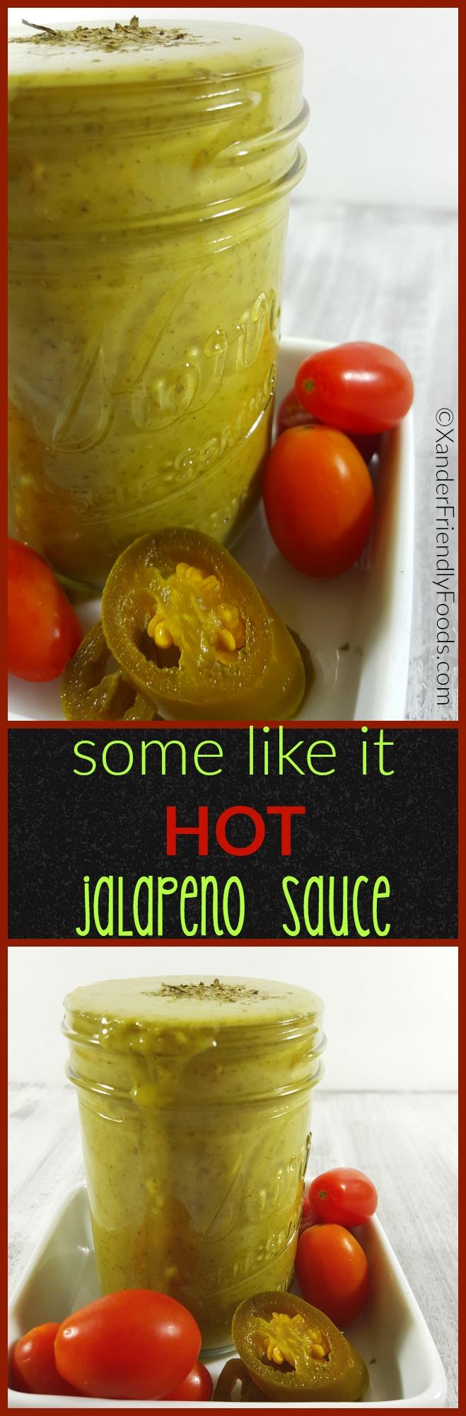Quick-n-easy Jalapeno Sauce