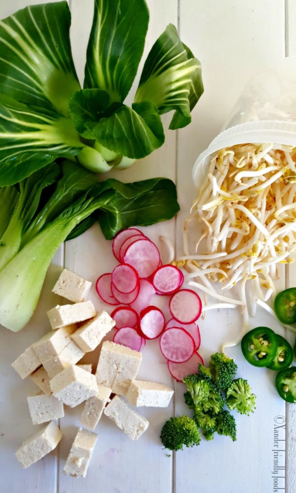 Soup Bowl Ingredients