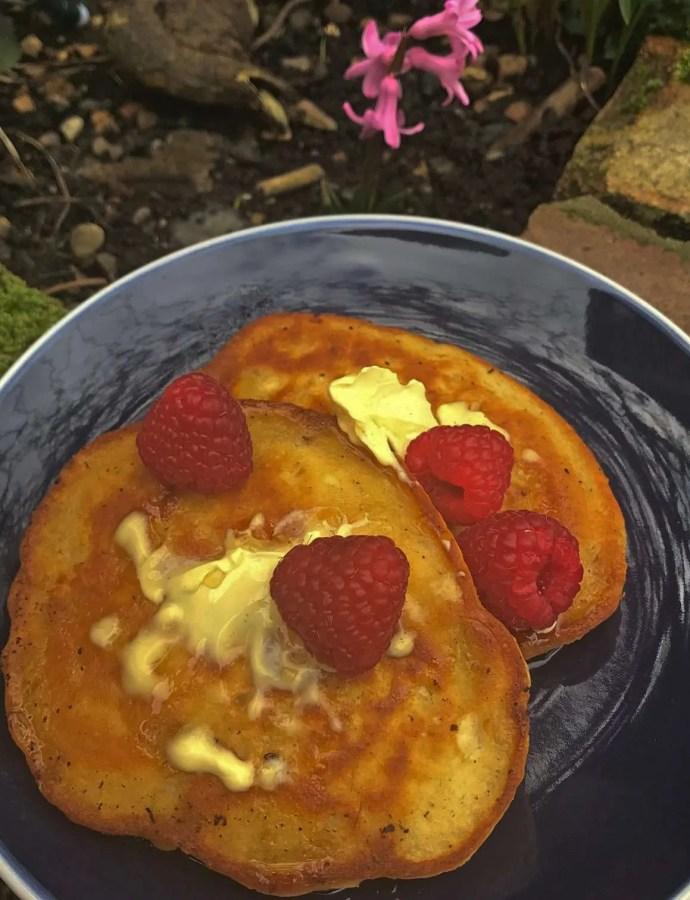 Vegan Breakfast Pancakes