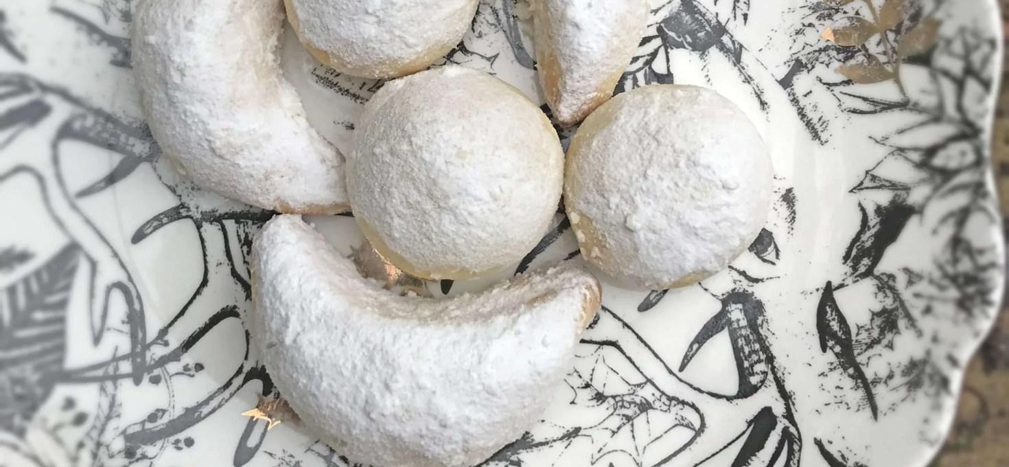 Dairy Free Almond Shortbread