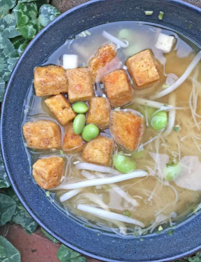 Crispy Tofu Soup