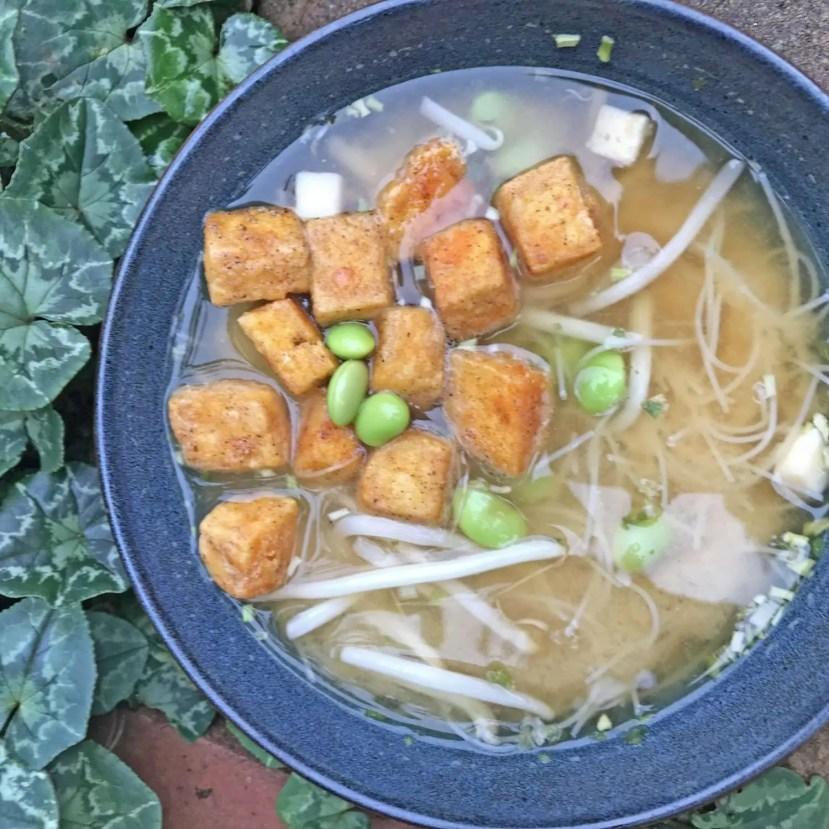 Fried Tofu Soup
