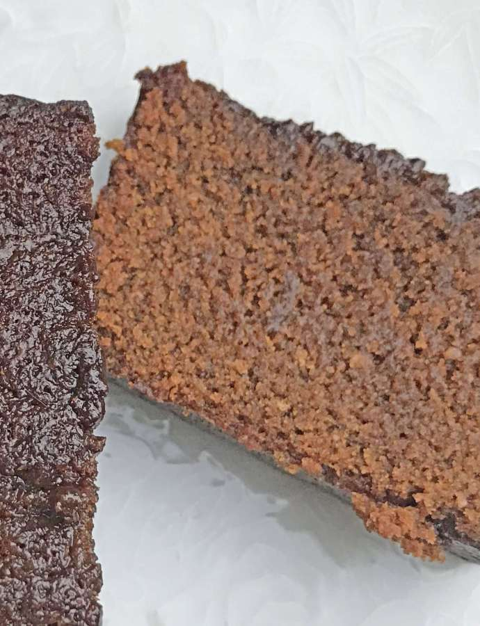 Vegan Sticky Gingerbread Loaf