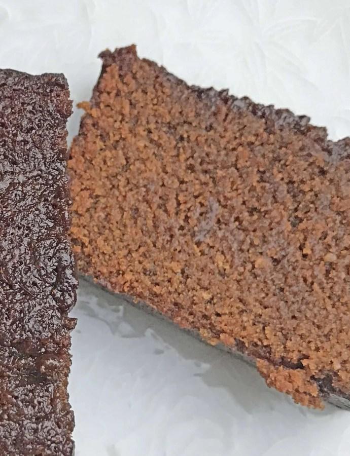 Vegan Sticky Gingerbread Loaf