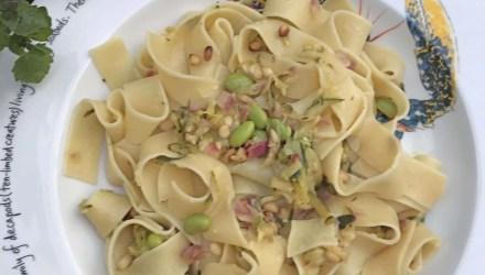 Vegan Courgette and Lemon Pasta