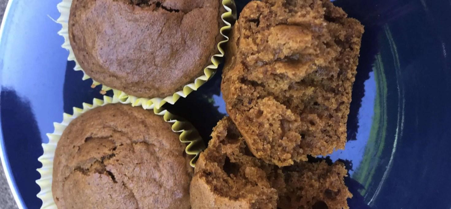 Vegan Pumpkin Spiced Muffins