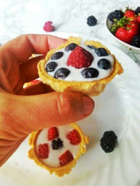 aip mini fruit tarts gluten free grain free allergyummy