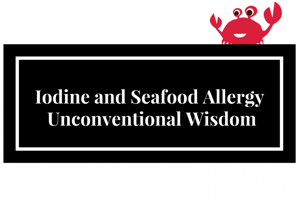 Image Result For Shellfish Allergy Iodine Contrast