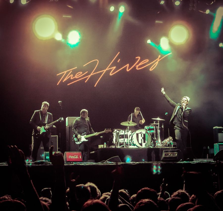The Hives live auf dem Highfield Festival