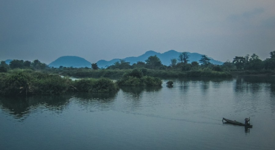 Der Mekong in Laos