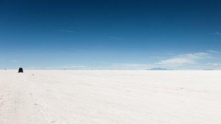 Salar de Uyuni in Bolivien