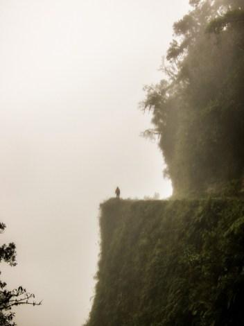 Death Road bei Coroico