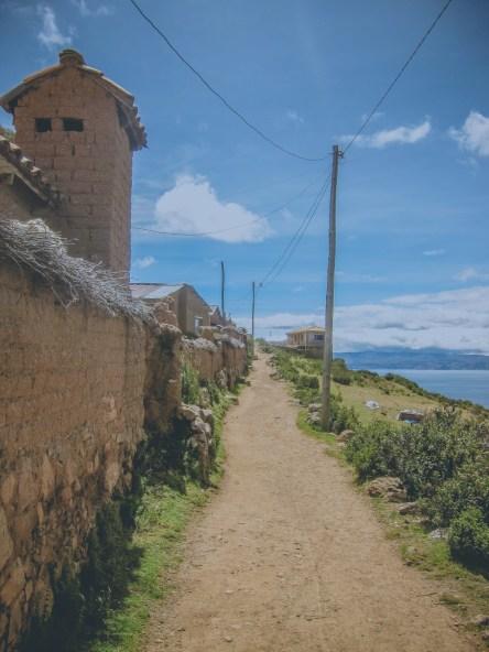 Weg auf der Isla del Sol