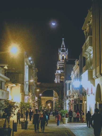 Arequipa in Peru