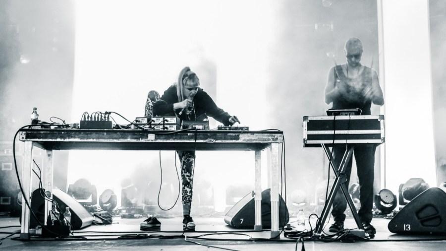 Grimes live auf dem Berlin Festival 2012