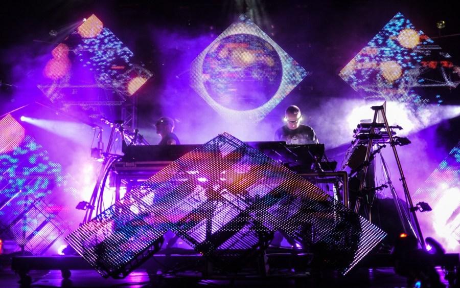 Orbital live auf dem Berlin Festival 2012