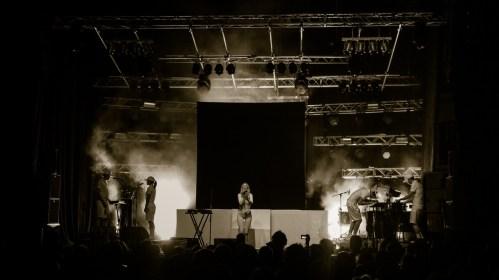 iamamiwhoami live auf dem Berlin Festival 2012
