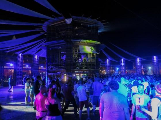 Colosseum-Bühne auf dem Sziget 2013