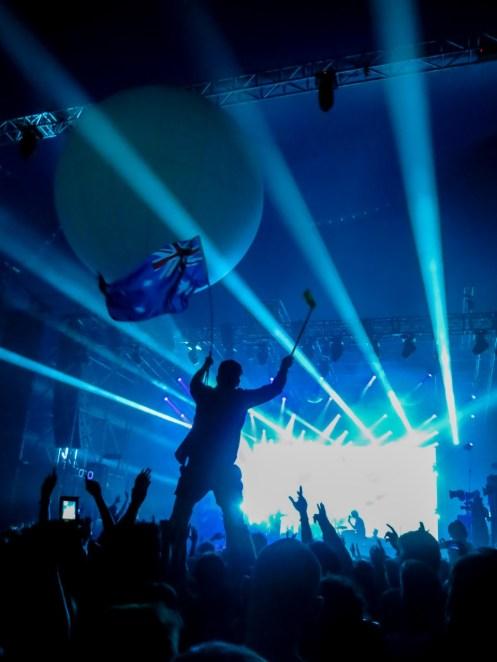 Tame Impala live auf dem Sziget Festival 2013