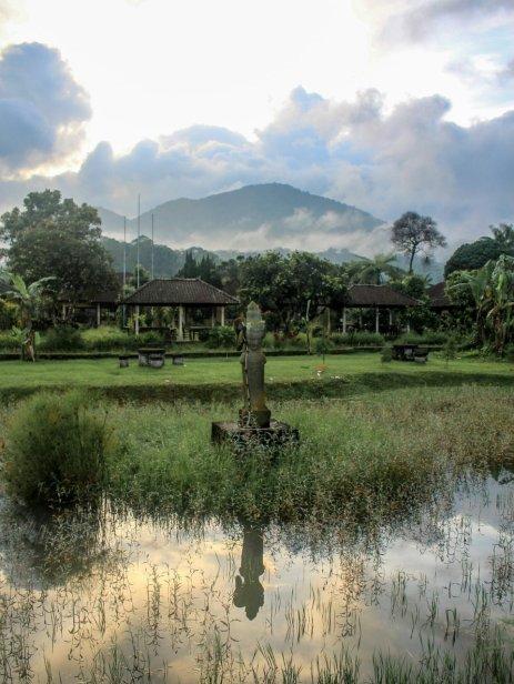 In der Nähe vom Pura Ulun Danu Beratan
