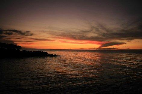 Ein weiterer Sonnenuntergang vor Camiguin
