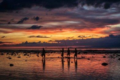 Sonnenuntergang vor Gili T